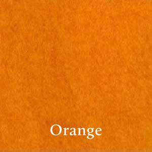 14 Orange Merino Waione Wool Carding