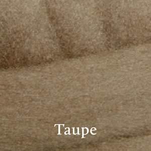 17 Taupe Merino Waione Wool Carding
