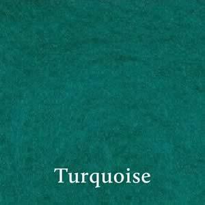 3 Turquoise Merino Waione Wool Carding